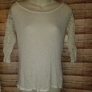 Arizona cream colored top size xs